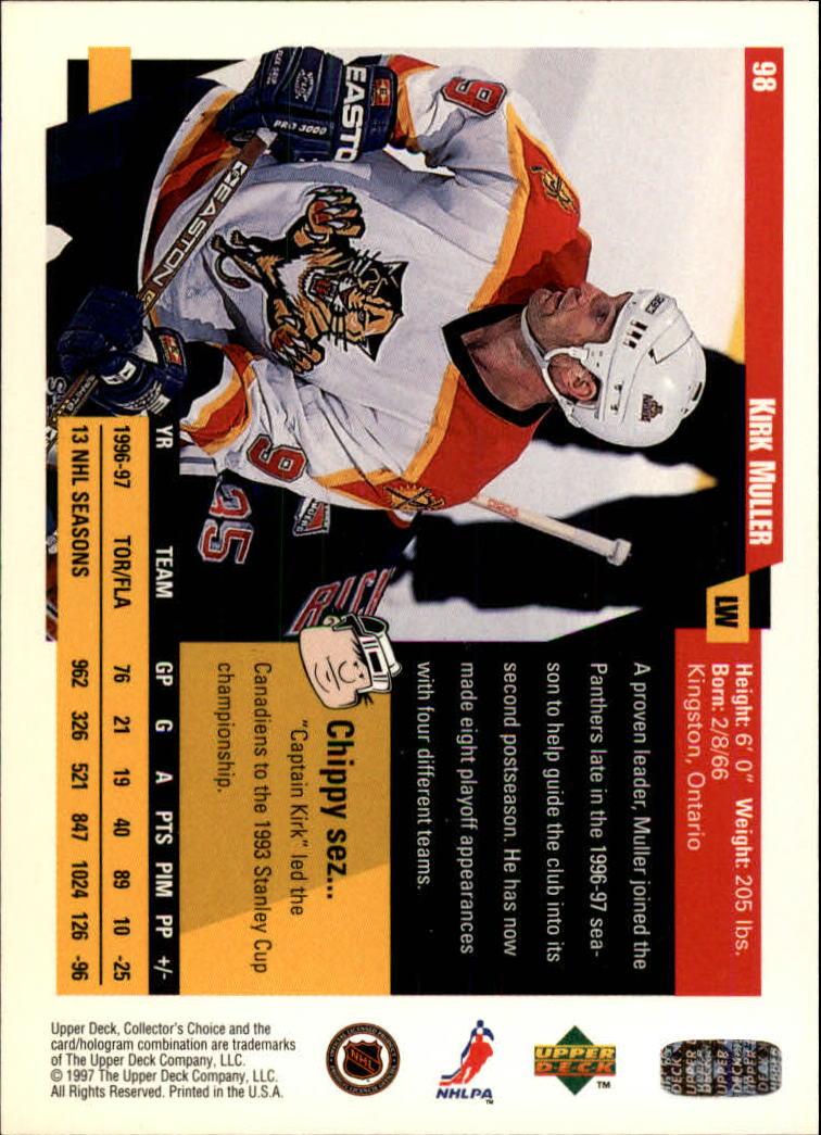 1997-98-Collector-039-s-Choice-Hockey-1-250-Your-Choice-GOTBASEBALLCARDS thumbnail 177