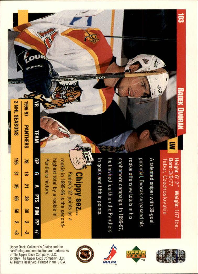 1997-98-Collector-039-s-Choice-Hockey-1-250-Your-Choice-GOTBASEBALLCARDS thumbnail 187