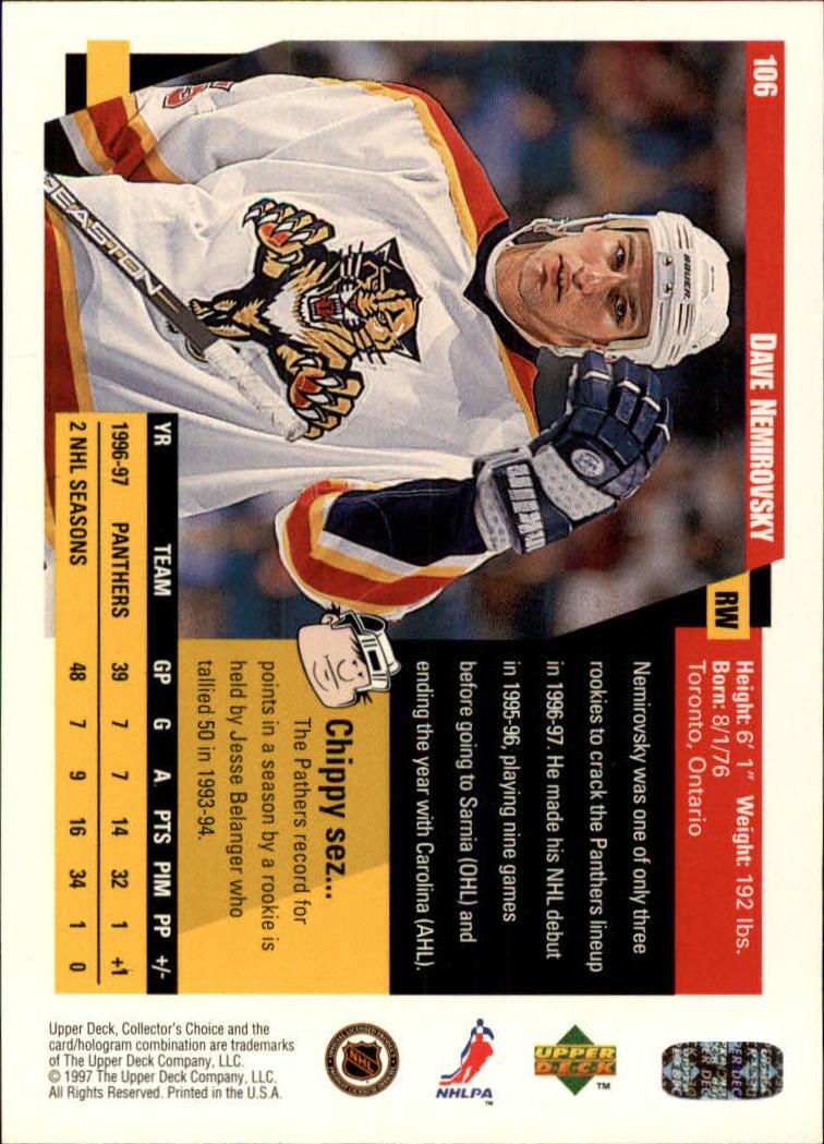 1997-98-Collector-039-s-Choice-Hockey-1-250-Your-Choice-GOTBASEBALLCARDS thumbnail 193