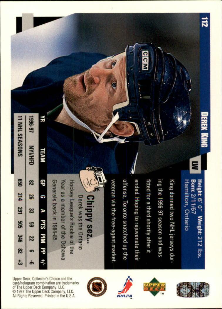 1997-98-Collector-039-s-Choice-Hockey-1-250-Your-Choice-GOTBASEBALLCARDS thumbnail 205