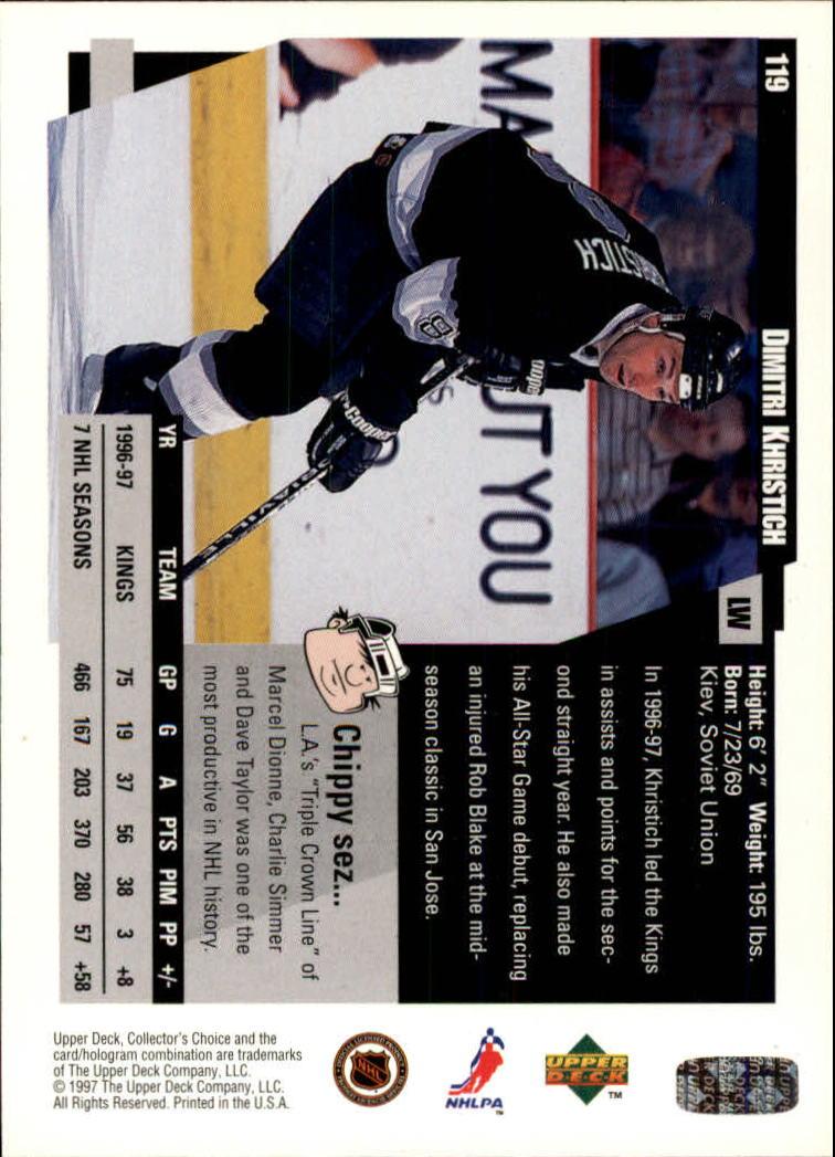 1997-98-Collector-039-s-Choice-Hockey-1-250-Your-Choice-GOTBASEBALLCARDS thumbnail 217