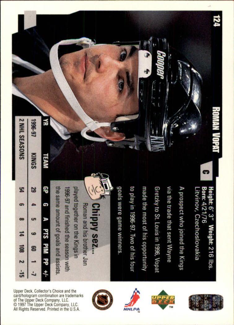 1997-98-Collector-039-s-Choice-Hockey-1-250-Your-Choice-GOTBASEBALLCARDS thumbnail 227