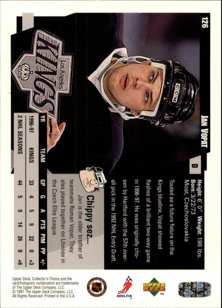 1997-98-Collector-039-s-Choice-Hockey-1-250-Your-Choice-GOTBASEBALLCARDS thumbnail 231