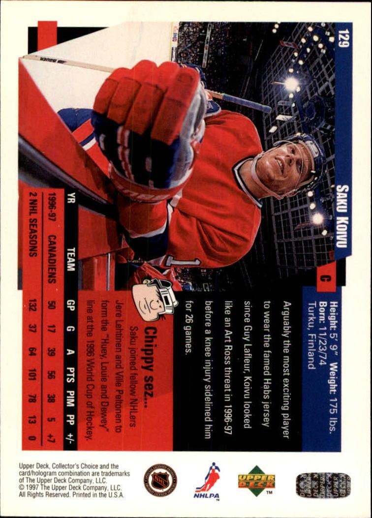 1997-98-Collector-039-s-Choice-Hockey-1-250-Your-Choice-GOTBASEBALLCARDS thumbnail 235