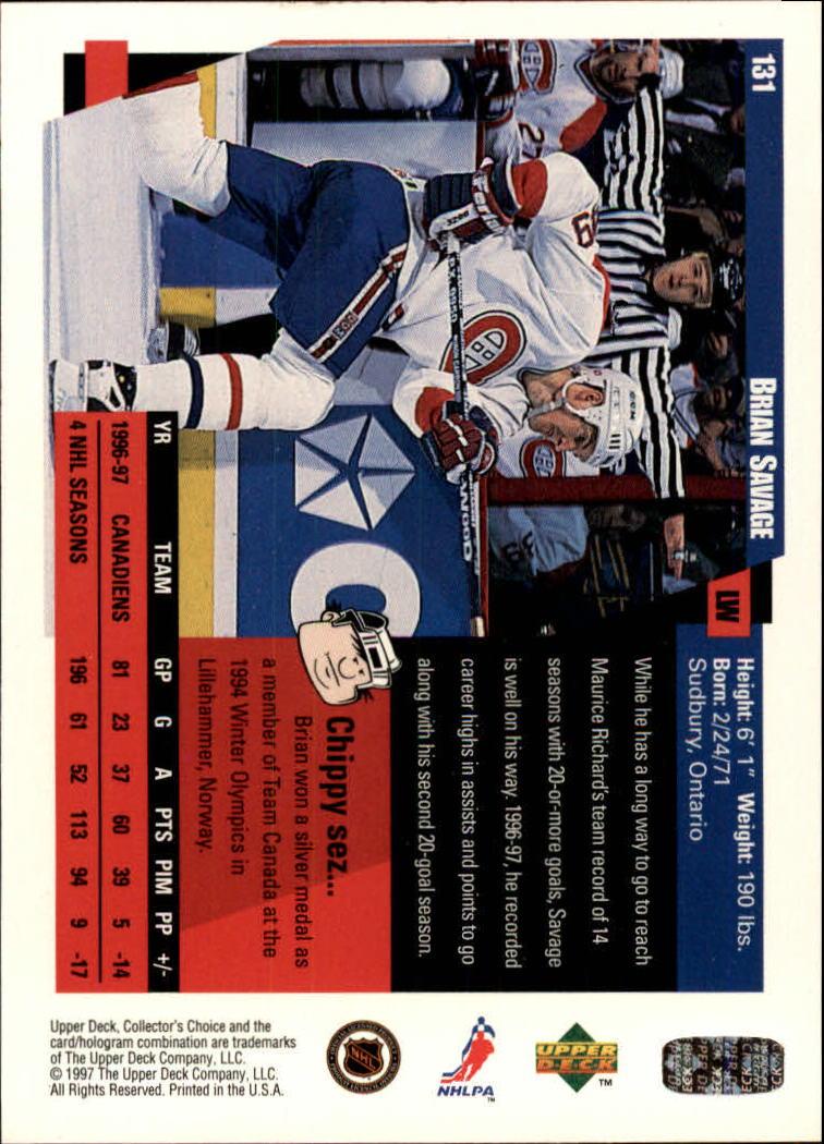 1997-98-Collector-039-s-Choice-Hockey-1-250-Your-Choice-GOTBASEBALLCARDS thumbnail 239