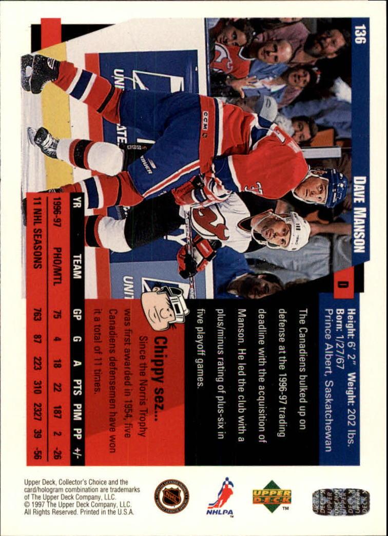 1997-98-Collector-039-s-Choice-Hockey-1-250-Your-Choice-GOTBASEBALLCARDS thumbnail 247
