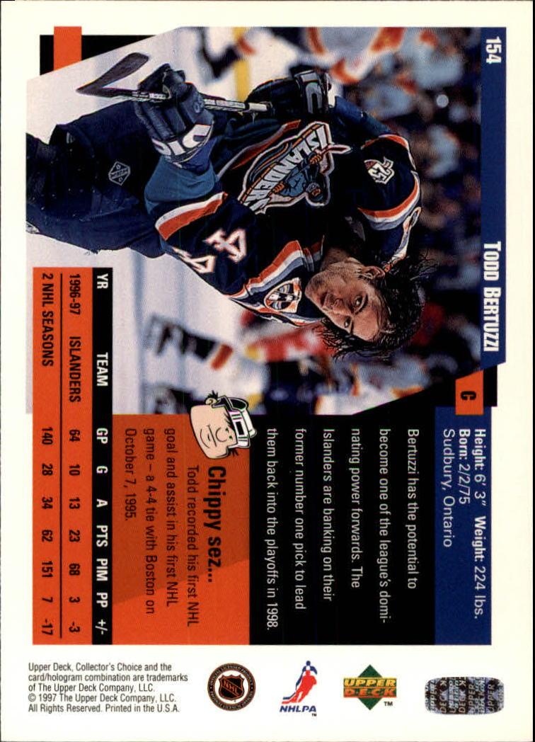 1997-98-Collector-039-s-Choice-Hockey-1-250-Your-Choice-GOTBASEBALLCARDS thumbnail 281