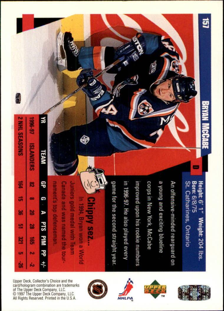 1997-98-Collector-039-s-Choice-Hockey-1-250-Your-Choice-GOTBASEBALLCARDS thumbnail 287