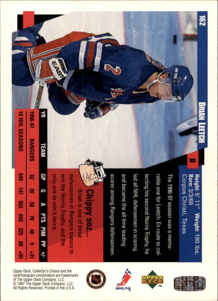 1997-98-Collector-039-s-Choice-Hockey-1-250-Your-Choice-GOTBASEBALLCARDS thumbnail 297