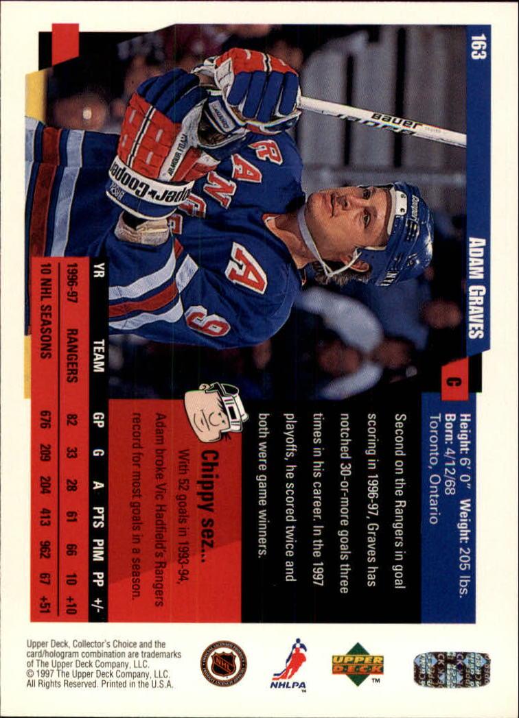 1997-98-Collector-039-s-Choice-Hockey-1-250-Your-Choice-GOTBASEBALLCARDS thumbnail 299