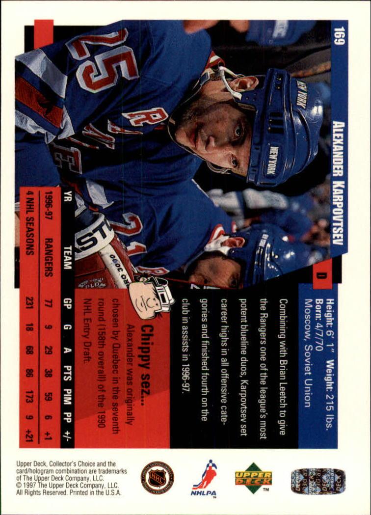 1997-98-Collector-039-s-Choice-Hockey-1-250-Your-Choice-GOTBASEBALLCARDS thumbnail 309