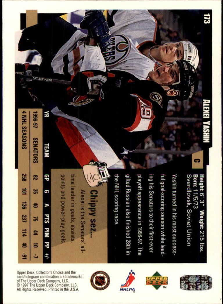 1997-98-Collector-039-s-Choice-Hockey-1-250-Your-Choice-GOTBASEBALLCARDS thumbnail 317