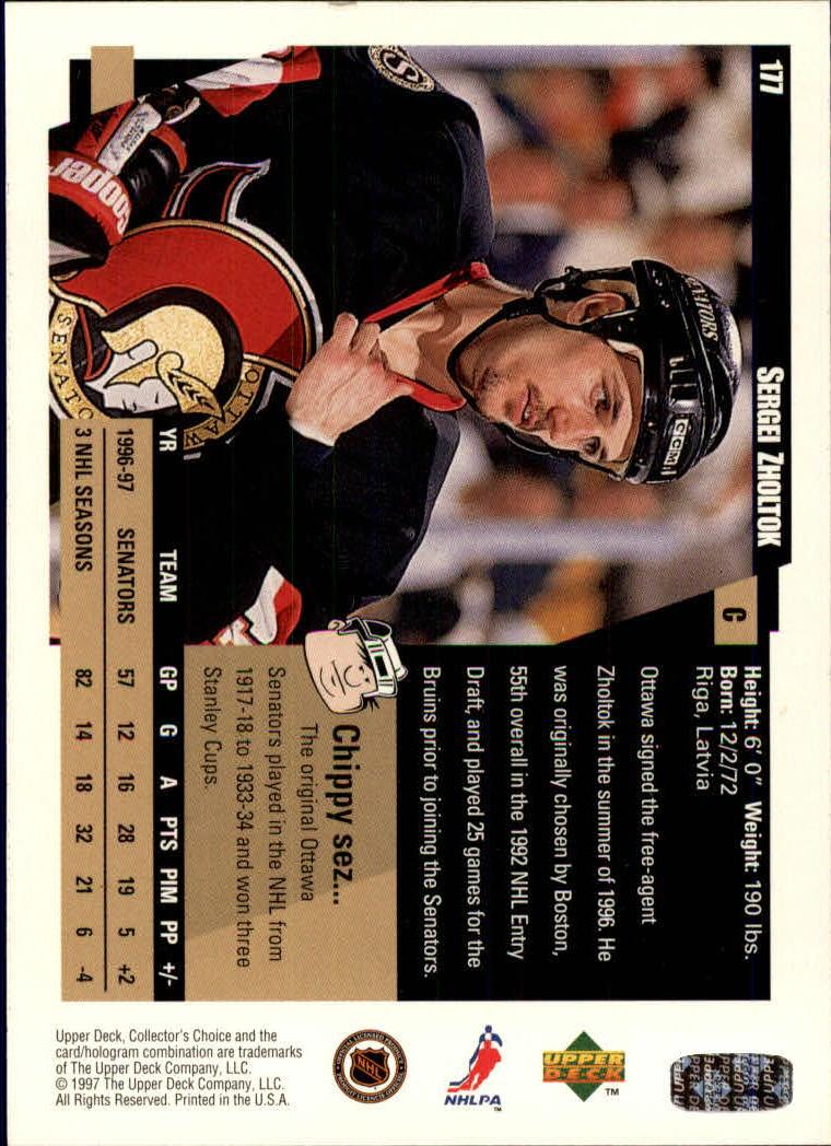 1997-98-Collector-039-s-Choice-Hockey-1-250-Your-Choice-GOTBASEBALLCARDS thumbnail 325