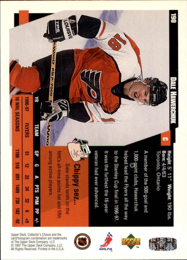 1997-98-Collector-039-s-Choice-Hockey-1-250-Your-Choice-GOTBASEBALLCARDS thumbnail 351