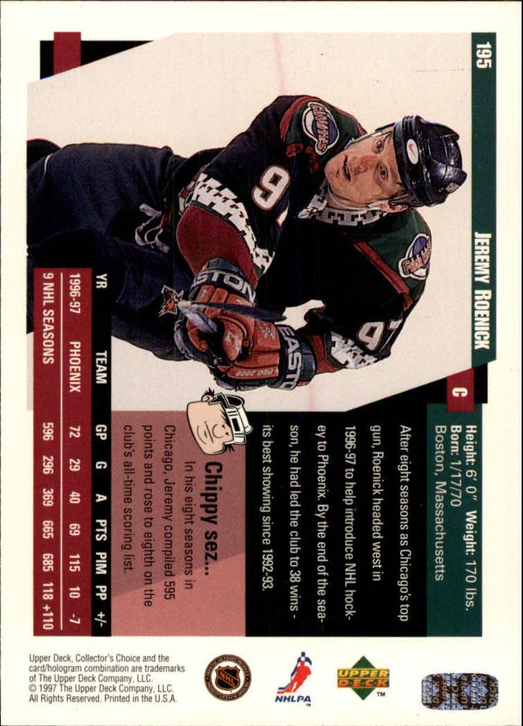 1997-98-Collector-039-s-Choice-Hockey-1-250-Your-Choice-GOTBASEBALLCARDS thumbnail 359