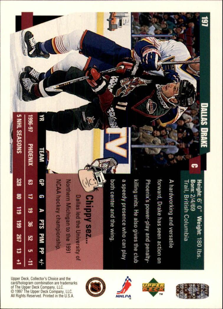 1997-98-Collector-039-s-Choice-Hockey-1-250-Your-Choice-GOTBASEBALLCARDS thumbnail 363