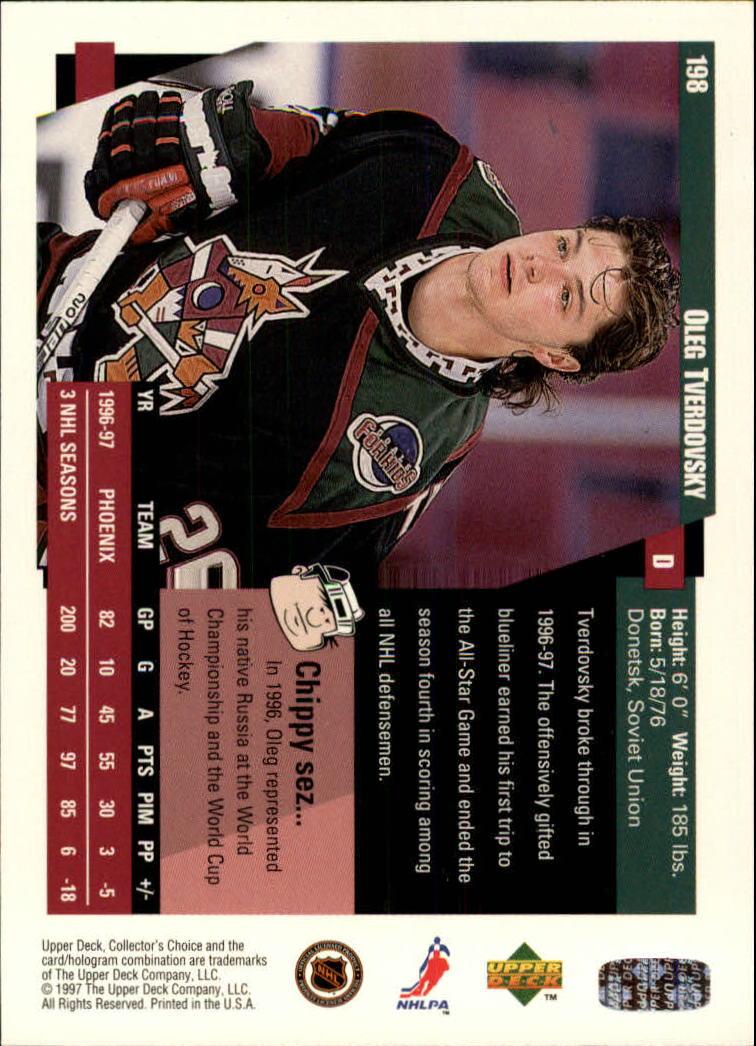 1997-98-Collector-039-s-Choice-Hockey-1-250-Your-Choice-GOTBASEBALLCARDS thumbnail 365