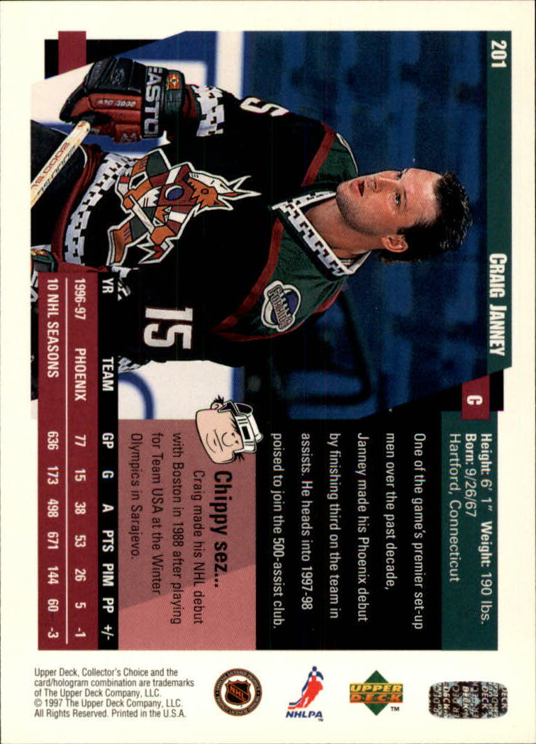 1997-98-Collector-039-s-Choice-Hockey-1-250-Your-Choice-GOTBASEBALLCARDS thumbnail 371