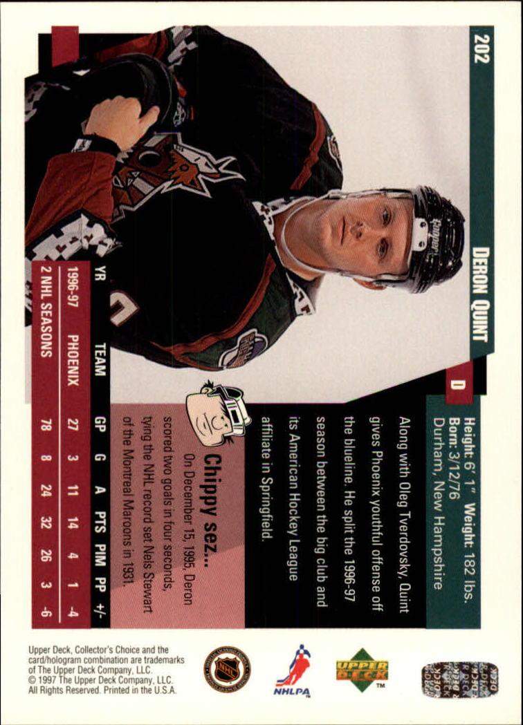 1997-98-Collector-039-s-Choice-Hockey-1-250-Your-Choice-GOTBASEBALLCARDS thumbnail 373