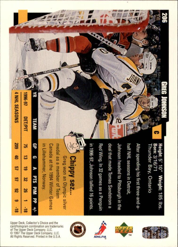 1997-98-Collector-039-s-Choice-Hockey-1-250-Your-Choice-GOTBASEBALLCARDS thumbnail 381