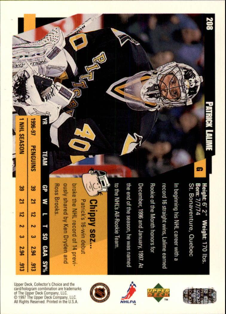1997-98-Collector-039-s-Choice-Hockey-1-250-Your-Choice-GOTBASEBALLCARDS thumbnail 385