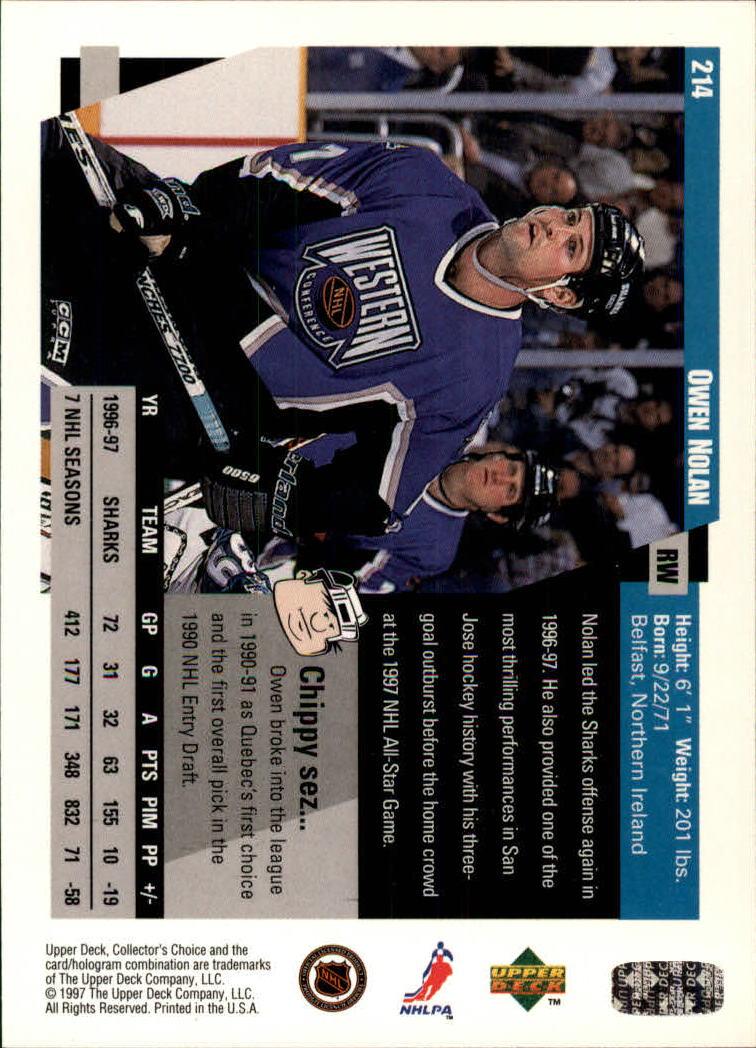 1997-98-Collector-039-s-Choice-Hockey-1-250-Your-Choice-GOTBASEBALLCARDS thumbnail 397