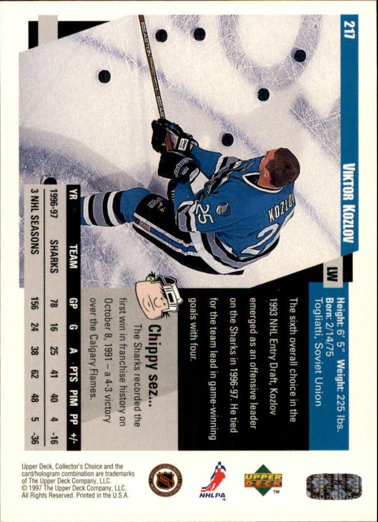 1997-98-Collector-039-s-Choice-Hockey-1-250-Your-Choice-GOTBASEBALLCARDS thumbnail 403