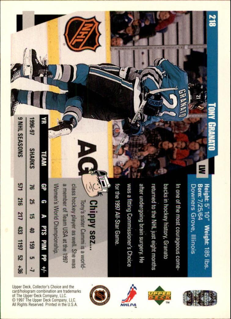 1997-98-Collector-039-s-Choice-Hockey-1-250-Your-Choice-GOTBASEBALLCARDS thumbnail 405