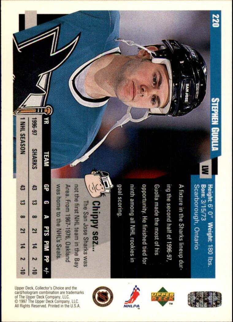 1997-98-Collector-039-s-Choice-Hockey-1-250-Your-Choice-GOTBASEBALLCARDS thumbnail 409