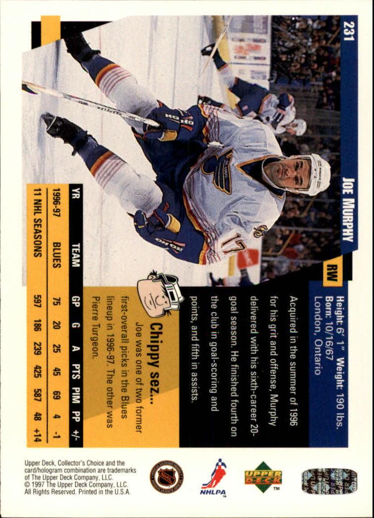 1997-98-Collector-039-s-Choice-Hockey-1-250-Your-Choice-GOTBASEBALLCARDS thumbnail 431
