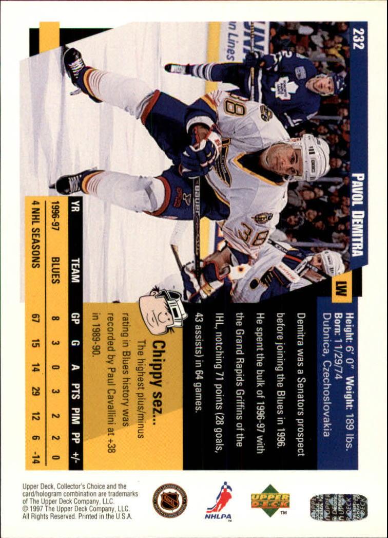 1997-98-Collector-039-s-Choice-Hockey-1-250-Your-Choice-GOTBASEBALLCARDS thumbnail 433