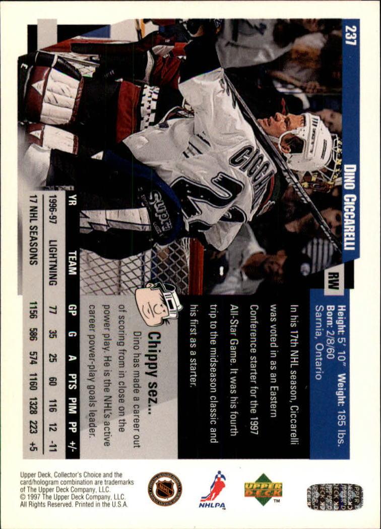 1997-98-Collector-039-s-Choice-Hockey-1-250-Your-Choice-GOTBASEBALLCARDS thumbnail 443