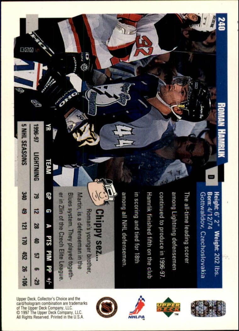 1997-98-Collector-039-s-Choice-Hockey-1-250-Your-Choice-GOTBASEBALLCARDS thumbnail 449