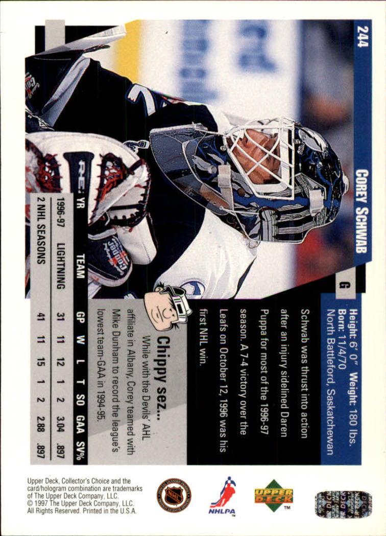 1997-98-Collector-039-s-Choice-Hockey-1-250-Your-Choice-GOTBASEBALLCARDS thumbnail 457