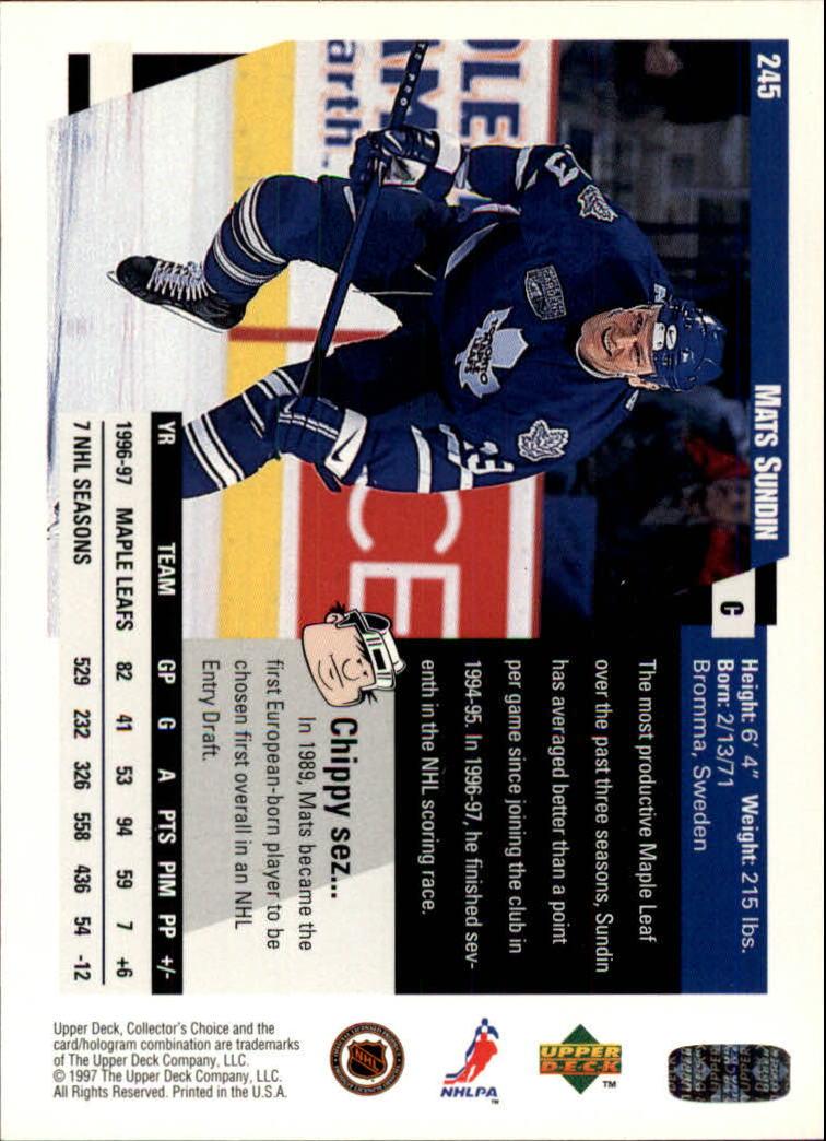 1997-98-Collector-039-s-Choice-Hockey-1-250-Your-Choice-GOTBASEBALLCARDS thumbnail 459