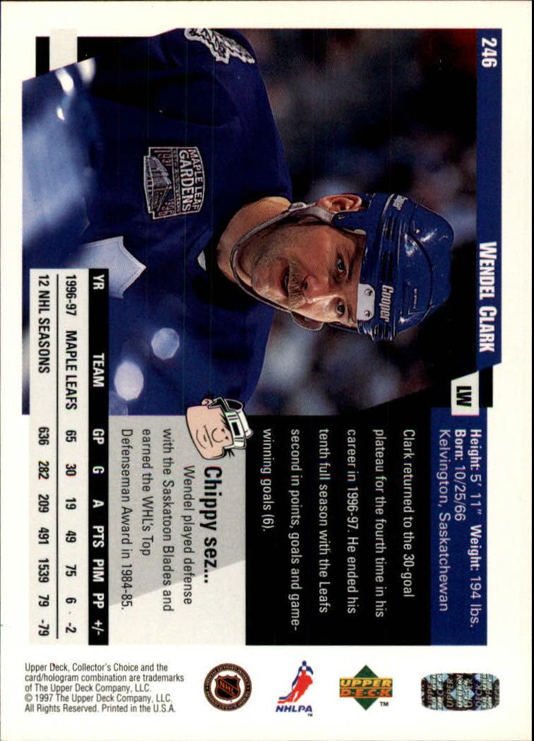 1997-98-Collector-039-s-Choice-Hockey-1-250-Your-Choice-GOTBASEBALLCARDS thumbnail 461