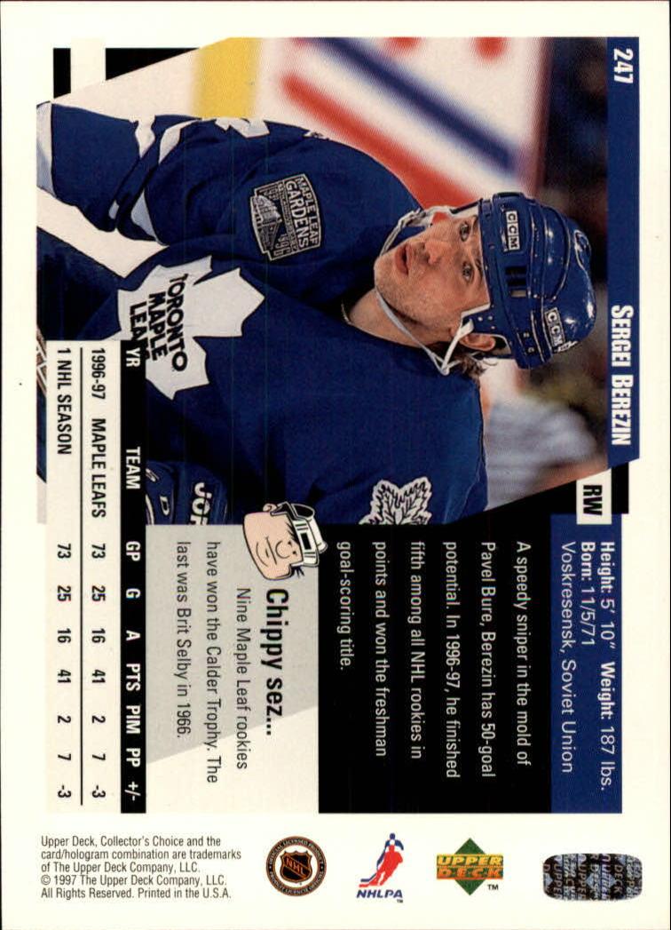 1997-98-Collector-039-s-Choice-Hockey-1-250-Your-Choice-GOTBASEBALLCARDS thumbnail 463