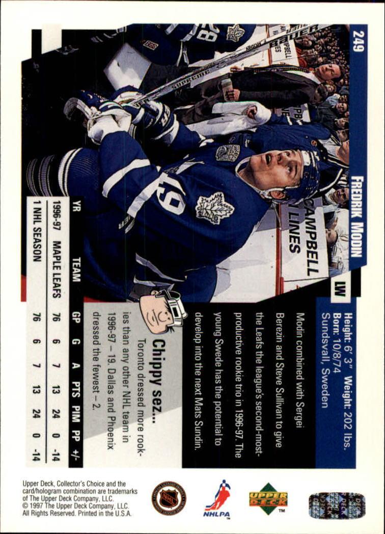 1997-98-Collector-039-s-Choice-Hockey-1-250-Your-Choice-GOTBASEBALLCARDS thumbnail 467
