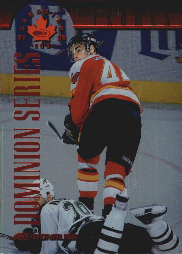 1997-98 Donruss Canadian Ice Dominion Series #36 Jonas Hoglund