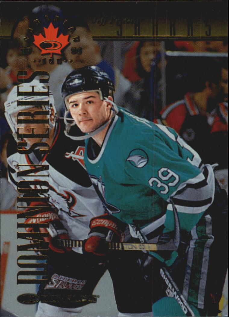 1997-98 Donruss Canadian Ice Dominion Series #81 Jeff Friesen
