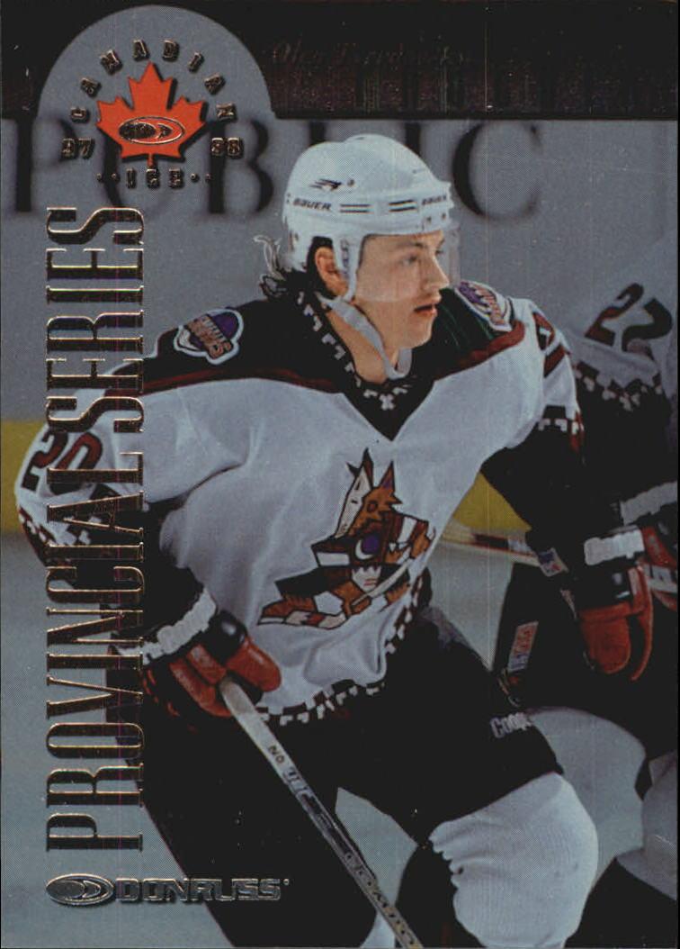 1997-98 Donruss Canadian Ice Provincial Series #62 Oleg Tverdovsky