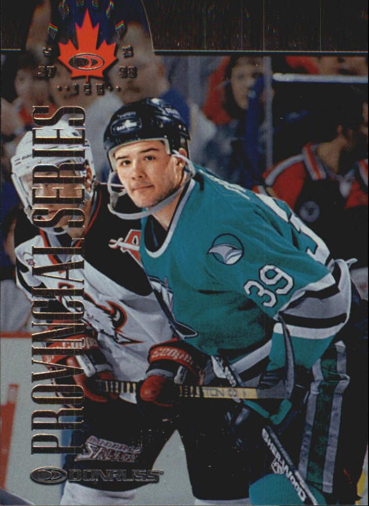 1997-98 Donruss Canadian Ice Provincial Series #81 Jeff Friesen