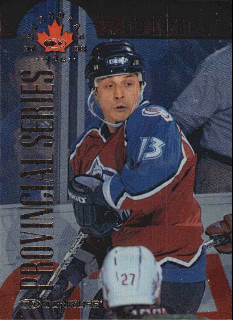 1997-98 Donruss Canadian Ice Provincial Series #82 Valeri Kamensky