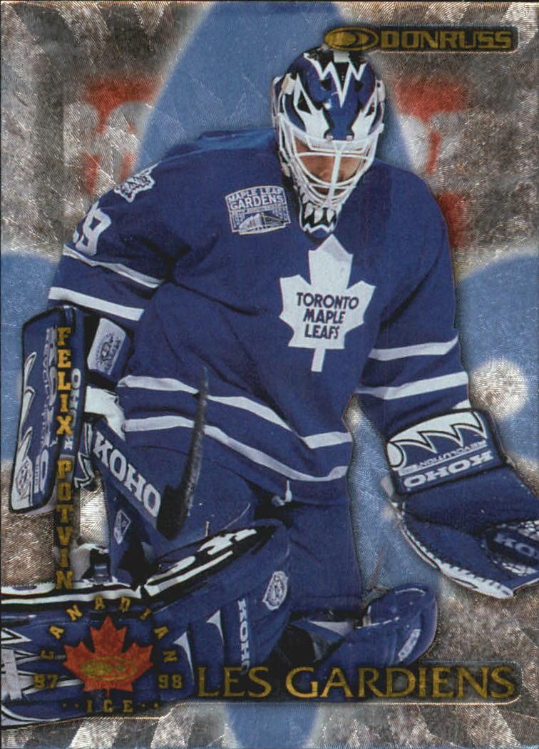 1997-98 Donruss Canadian Ice Les Gardiens #2 Felix Potvin