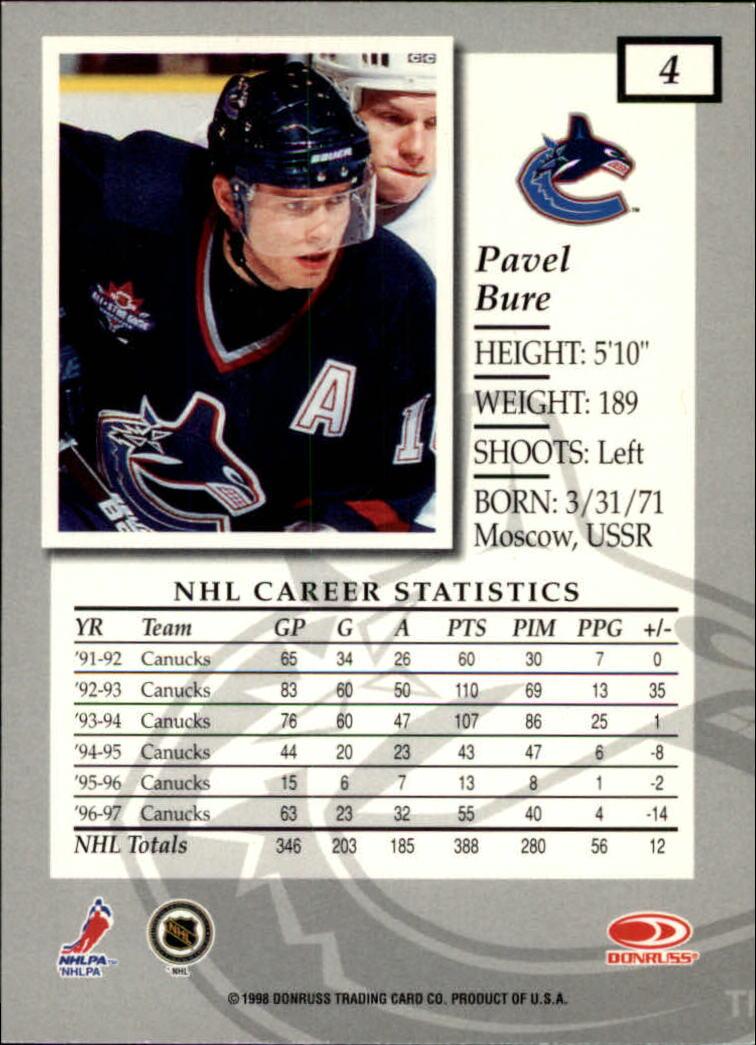 1997-98-Donruss-Elite-Hockey-1-150-Your-Choice-GOTBASEBALLCARDS thumbnail 9