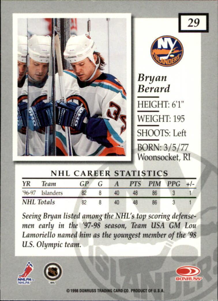 1997-98-Donruss-Elite-Hockey-1-150-Your-Choice-GOTBASEBALLCARDS thumbnail 53