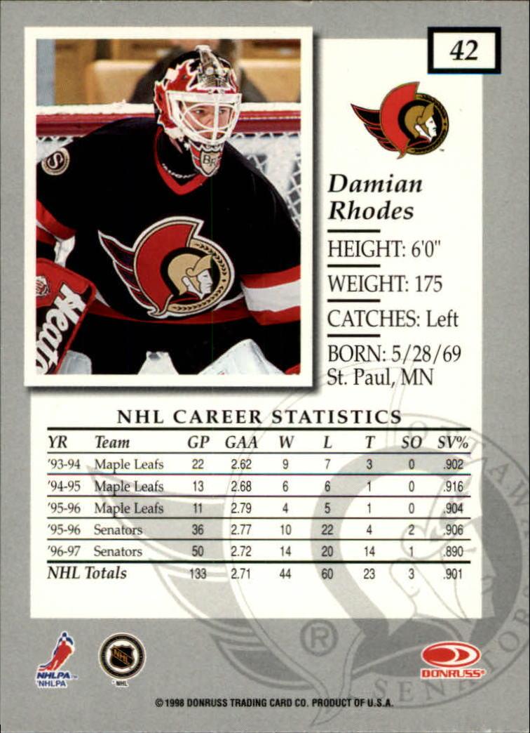 1997-98-Donruss-Elite-Hockey-1-150-Your-Choice-GOTBASEBALLCARDS thumbnail 79