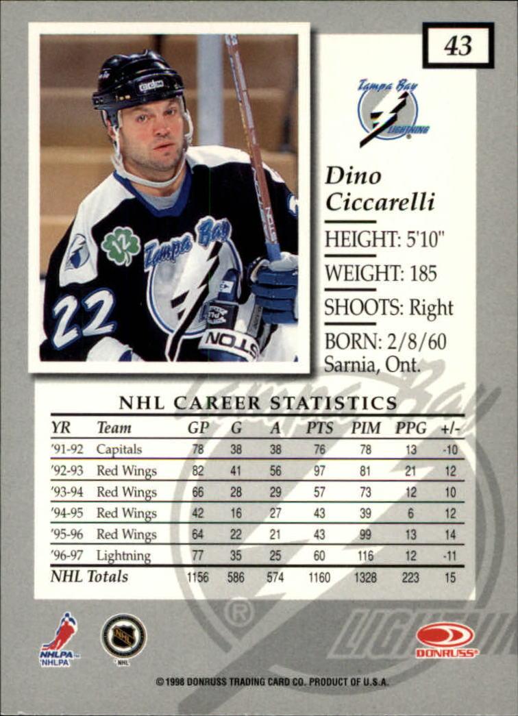 1997-98-Donruss-Elite-Hockey-1-150-Your-Choice-GOTBASEBALLCARDS thumbnail 81