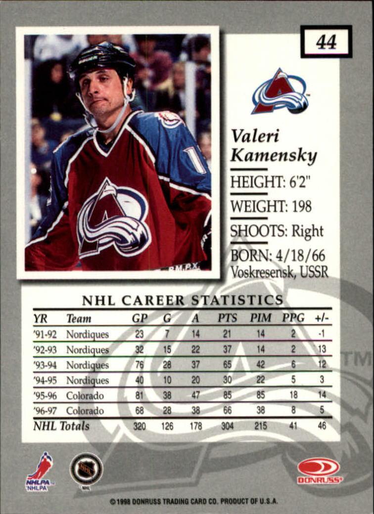 1997-98-Donruss-Elite-Hockey-1-150-Your-Choice-GOTBASEBALLCARDS thumbnail 83