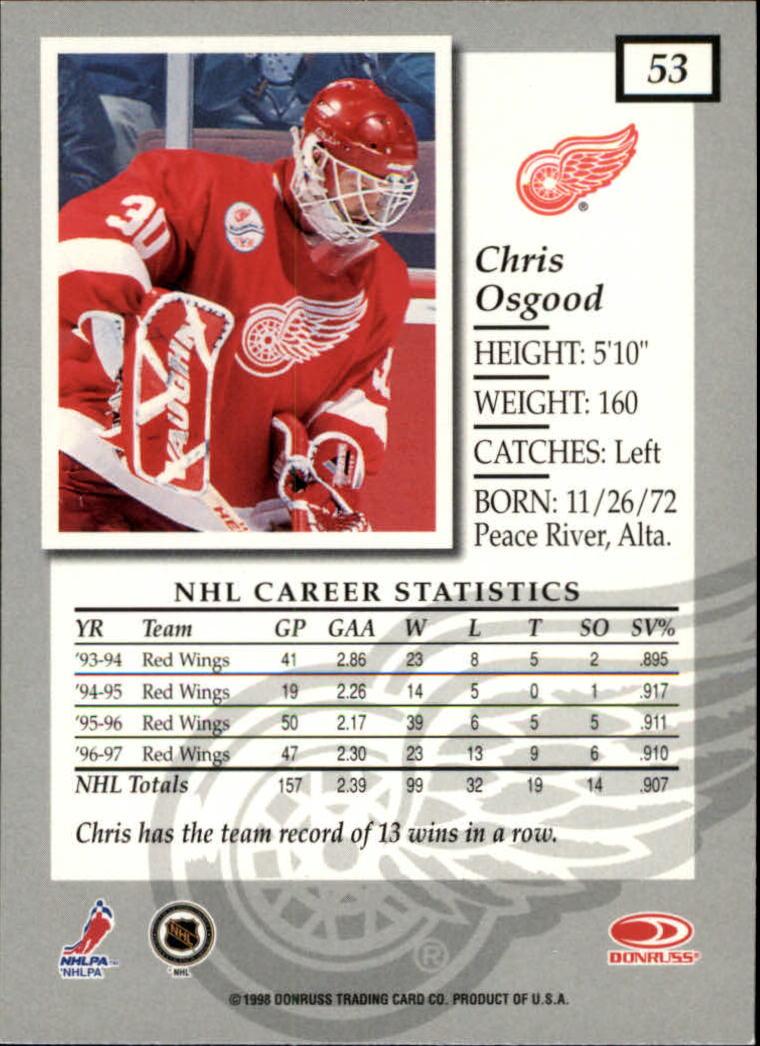 1997-98-Donruss-Elite-Hockey-1-150-Your-Choice-GOTBASEBALLCARDS thumbnail 99